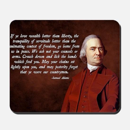 Samuel Adams Mousepad