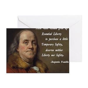 benjamin franklin liberty quote