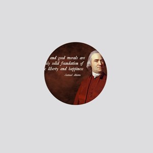 Samuel Adams Religion Quote Mini Button