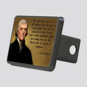 Declaration of Independenc Rectangular Hitch Cover