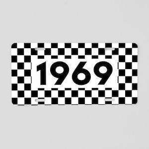 Ska 1969 Aluminum License Plate