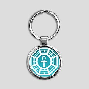 Dharma Round Keychain