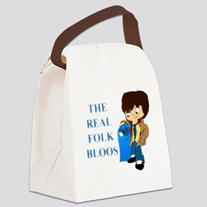 The Real Folk Bloos Canvas Lunch Bag