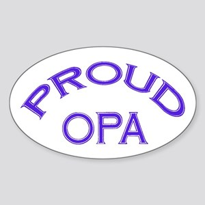 Opa Oval Sticker