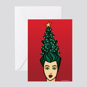Tree Topper Holiday Greeting Cards
