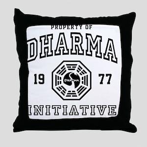 Shower Dharma Ini Throw Pillow