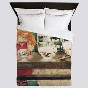 GOLDILOCKS_SQ Queen Duvet