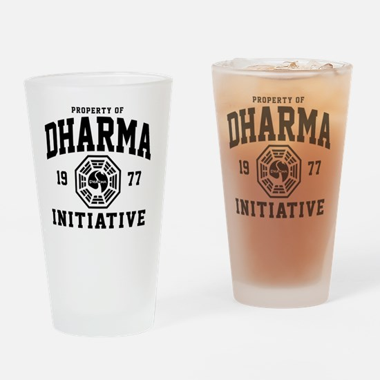 Dharma Drinking Glass