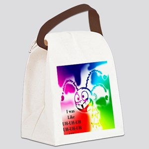 UH x7 colors 2 inverse Canvas Lunch Bag