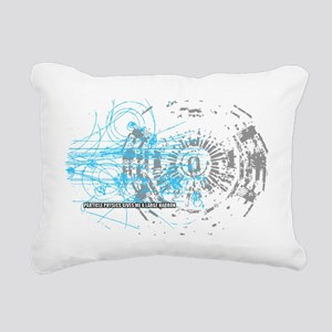 Particle Physics Gives M Rectangular Canvas Pillow