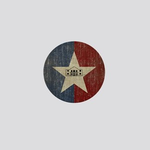 Vintage San Antonio Flag Mini Button