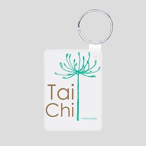 Tai Chi Heart 2 Aluminum Photo Keychain