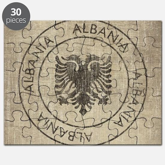Vintage Albania Puzzle