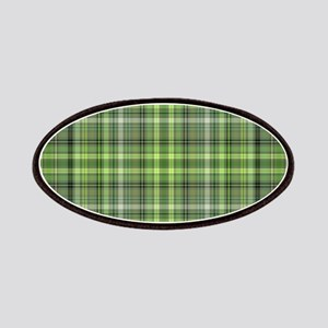 Green Plaid 4 Patch