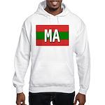 Morocco Colors Hooded Sweatshirt