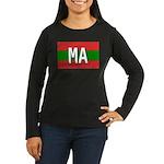 Morocco Colors Women's Long Sleeve Dark T-Shirt