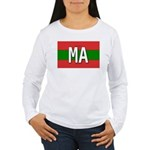 Morocco Colors Women's Long Sleeve T-Shirt