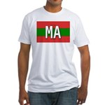 Morocco Colors Fitted T-Shirt