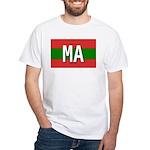 Morocco Colors White T-Shirt