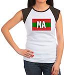 Morocco Colors Women's Cap Sleeve T-Shirt