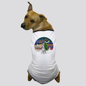 XmasMagic-SiberianHuskyPUP Dog T-Shirt