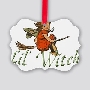 lilWitch Picture Ornament