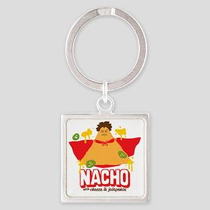 Nacho Square Keychain