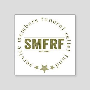 "SMFRF Logo  Square Sticker 3"" x 3"""