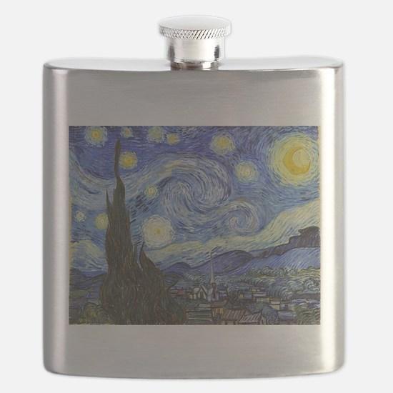 Starry Night - Van Gogh Flask