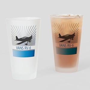 Aircraft Vans RV-6 Drinking Glass