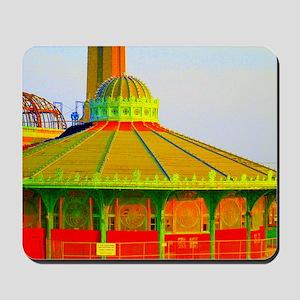 Asbury Park Carousel Mousepad