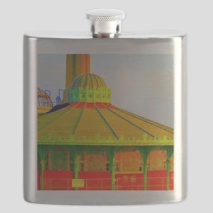 Asbury Park Carousel Flask