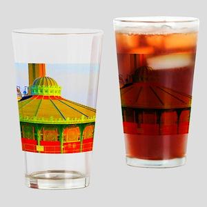 Asbury Park Carousel Drinking Glass