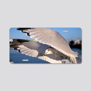 Flying Seagull Aluminum License Plate
