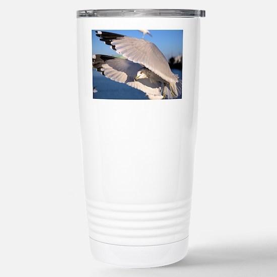Flying Seagull Stainless Steel Travel Mug