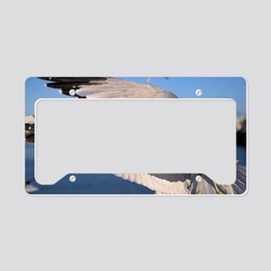 Flying Seagull License Plate Holder