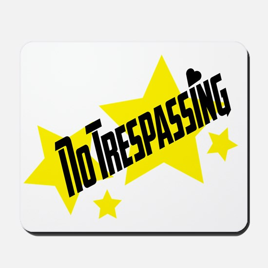 glambert stars no trespassing! Mousepad