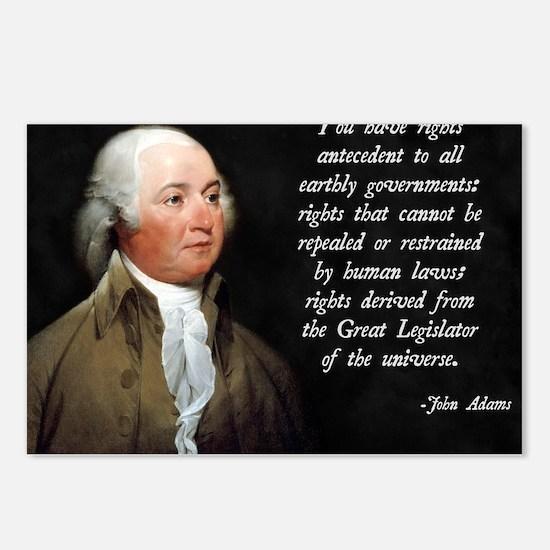 John Adams Rights Postcards (Package of 8)