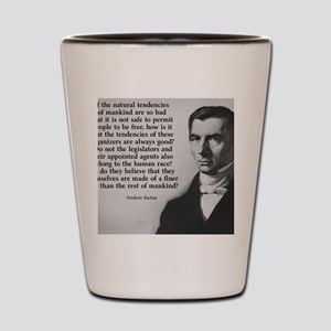 Frederic Bastiat Finer Clay Shot Glass