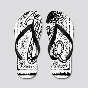 Snake33Light Flip Flops
