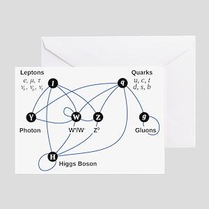 Higgs Boson L Greeting Card