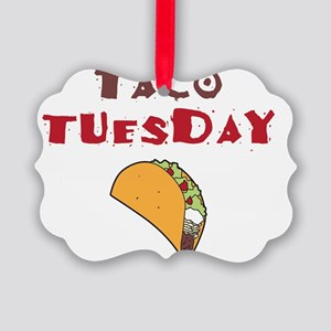 Taco Tuesday Picture Ornament