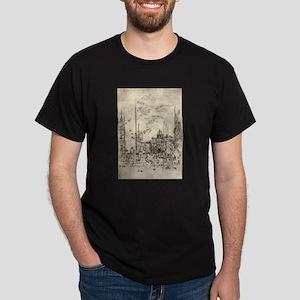 The Piazetta - Whistler - 1880 T-Shirt