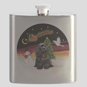 R-NightFlight-BlackCocker Flask