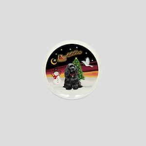 R-NightFlight-BlackCocker Mini Button