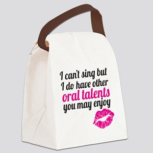 oral talents Canvas Lunch Bag