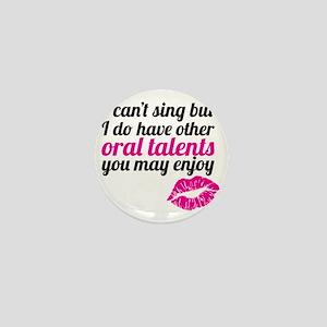 oral talents Mini Button