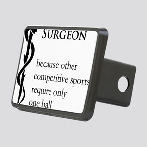 Surgeon Because... Rectangular Hitch Cover