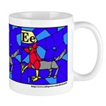 E is for Enfield Mug