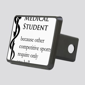 Medical Student Because... Rectangular Hitch Cover